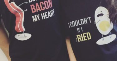Bacon & Eggs Matching His & Hers Shirts