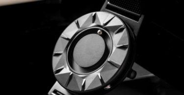 Bradley Element Black Mesh Strap Watch