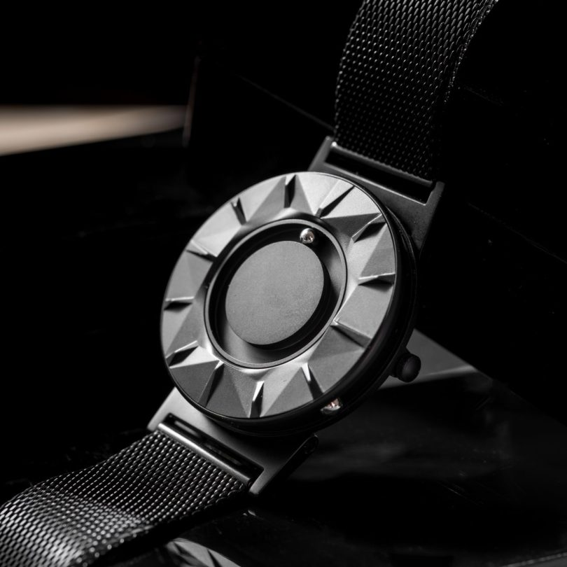 Bradley Element Black Mesh Strap Watch