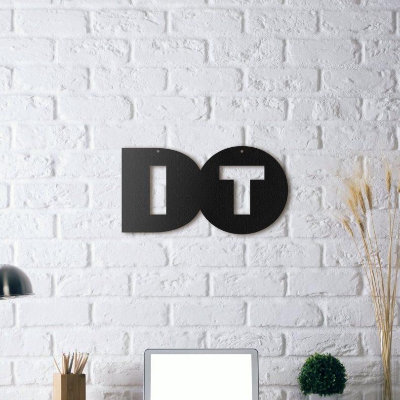 Do It Metal Wall Art