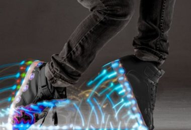Neon Kyx LED Sneakers