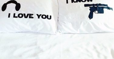 Star Wars I Love You I Know Pillow Case Set