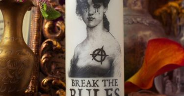 Anarchy: Break the Rules Candle by Coreterno
