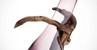 Sedimenti Amethyst Vase by IVV