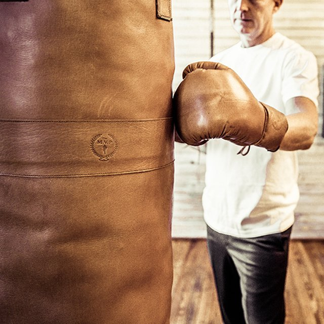 MVP Deluxe Leather Boxing Gloves