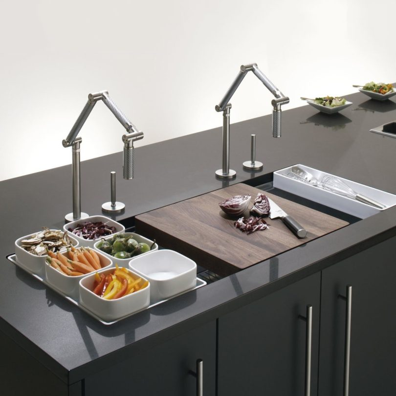 Undermount Single-Bowl with Wet Surface Area Kitchen Sink