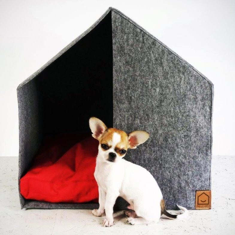 Felt Domek Good Night Pet House