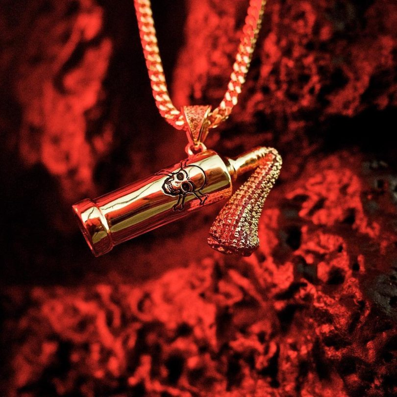 The Molotov Cocktail Necklace by Snoop Dogg x King Ice