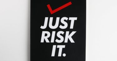 Just Risk It Vivid NoteBook