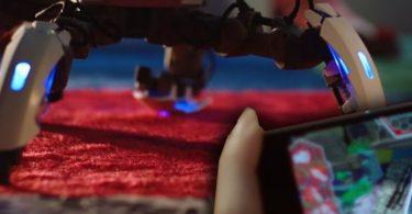 Mekamon AR Gaming Robots