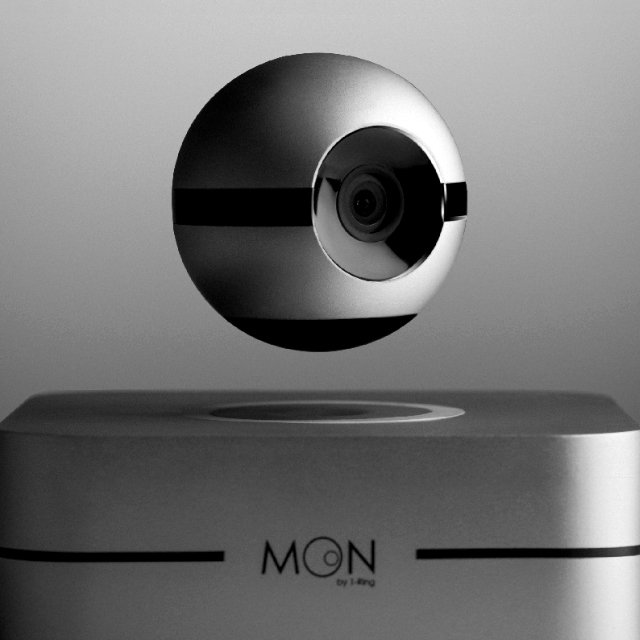 Moon Smart Home System & Levitating Security Camera