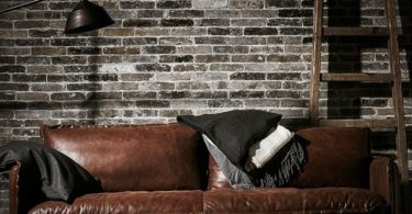 Neva Leather Sofa