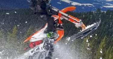 MotoTrax Snow Bike