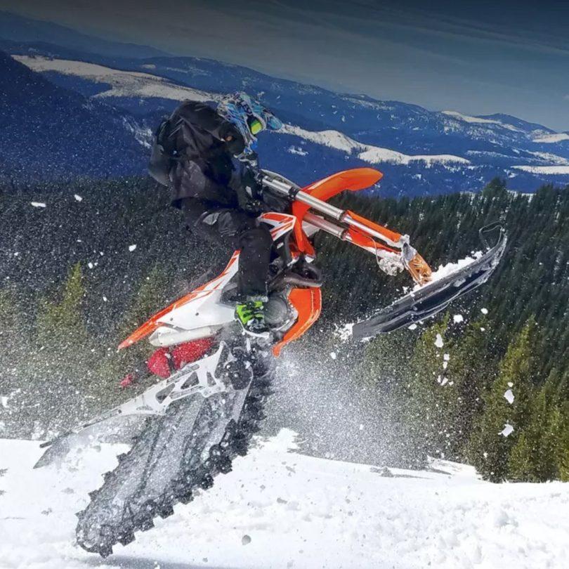 MotoTrax Snow Bike