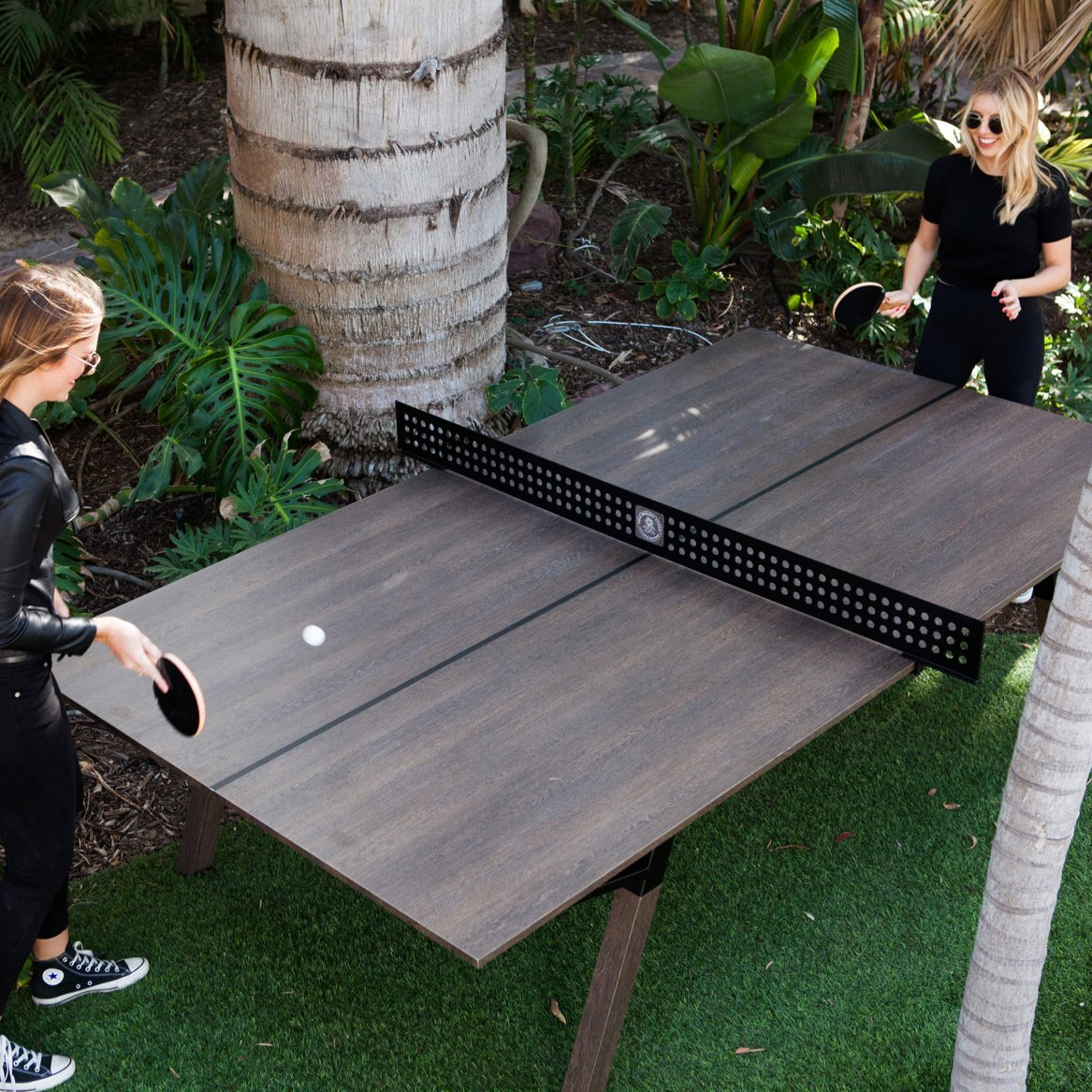 Woolsey Outdoor Ping Pong Table 187 Petagadget