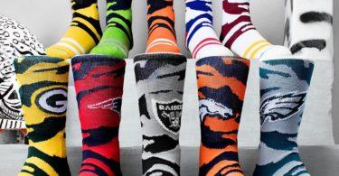 NFL Camo Socks Collection
