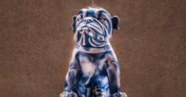 English Bulldog Incense Burner