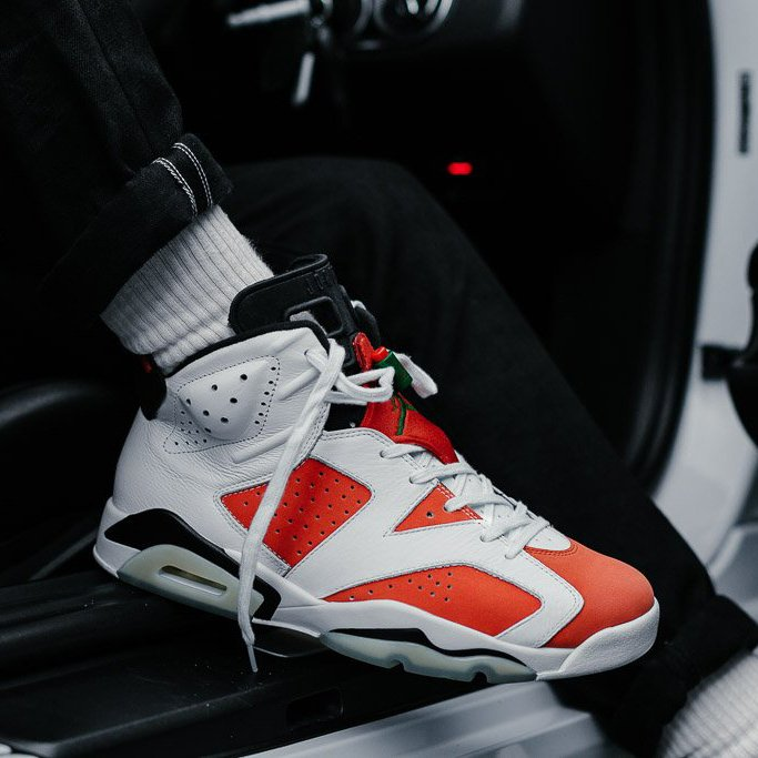 Nike air jordan 6 on feet