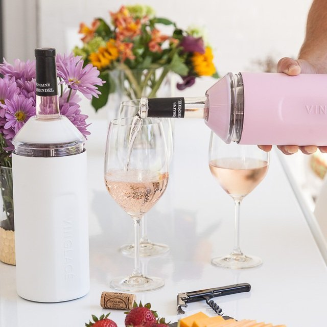 Limited Edition Pink Wine Chiller by Vinglacé