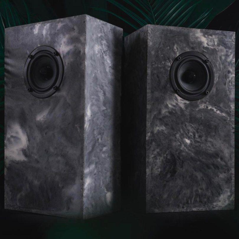 Monolith Passive Concrete Speakers