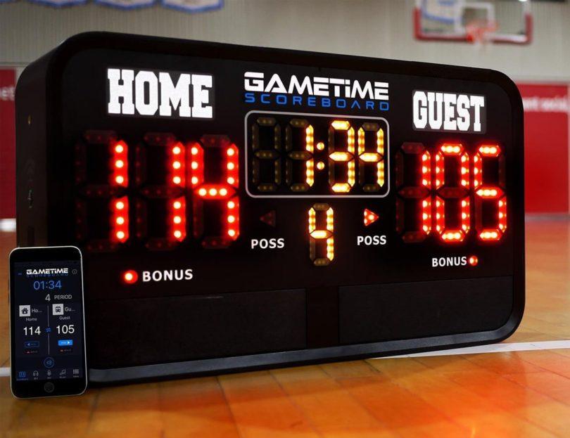 Gametime Scoreboard