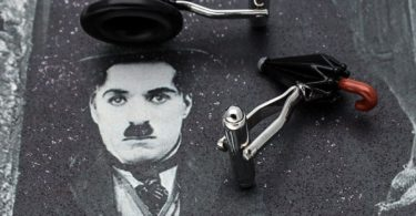 Chaplin's Hat & Umbrella Cufflinks