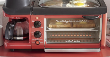 Nostalgia Electrics 3-in-1 Breakfast Station