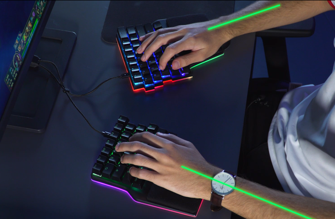Dygma Raise – The world's most advanced gaming keyboard