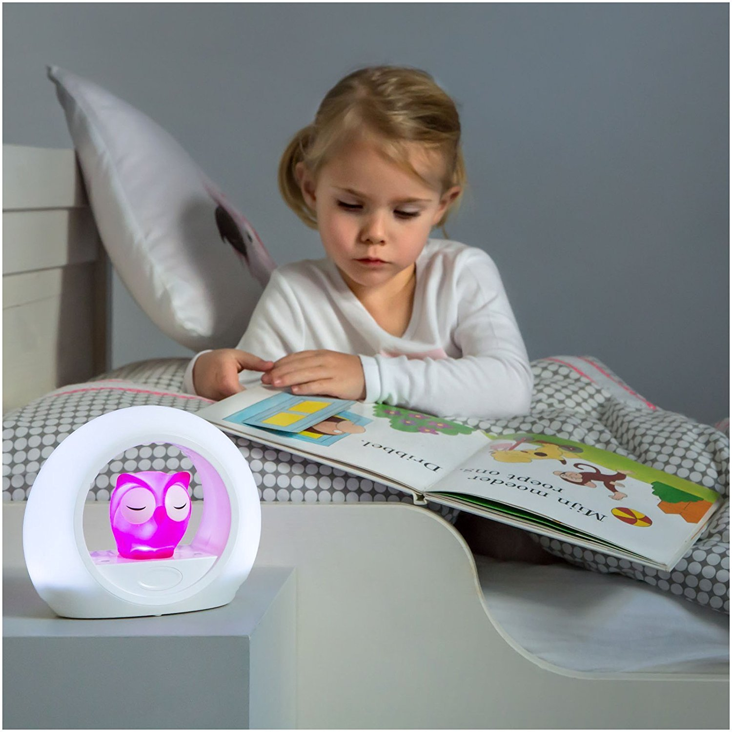 Zazu Kids LOU Voice Activated Nightlight Lamp