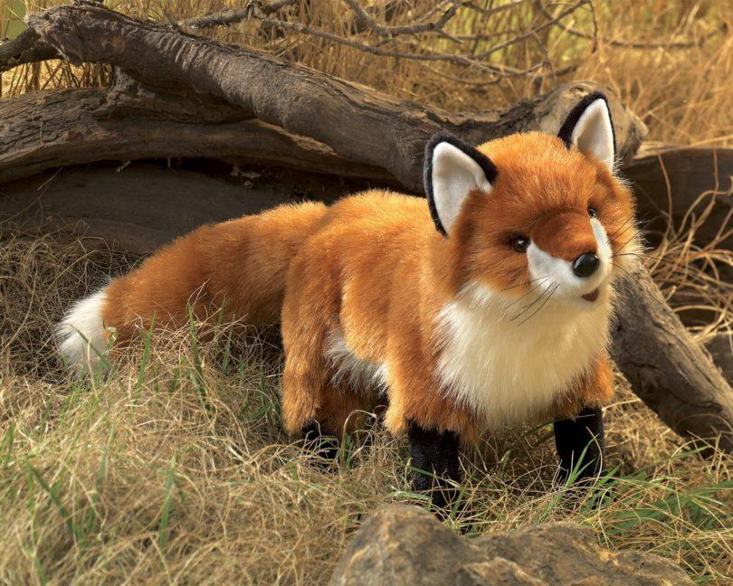 Folkmanis Red Fox Hand Puppet