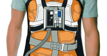 Luke Skywalker X-Wing Pilot Be The Character Adult Size 100% Cotton Adjustable Black Apron