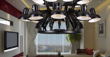 Phube Lighting Ron Gilad Dear Ingo Spider Chandelier