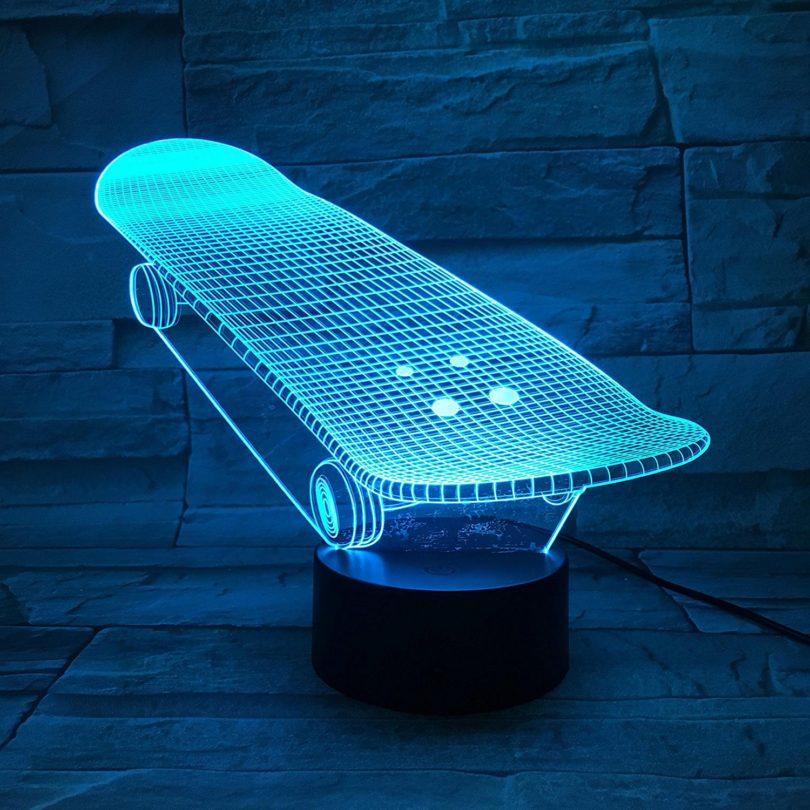 LE3D 3D Optical Illusion Desk Lamp