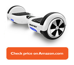 white Enjoybot hoverboard