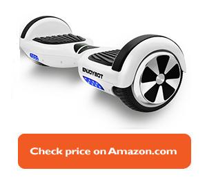white Enjoybot hoverboard