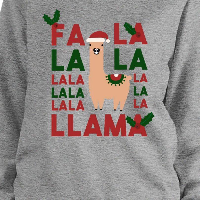 Fa La La Llama Sweatshirt