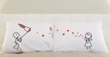 Catch My Love! His & Hers Couple Pillowcases