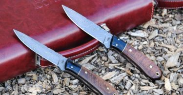 BucknBear Handmade Spear Hunting Knife