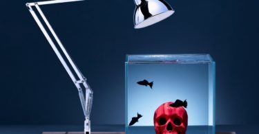 Isolate Aquarium Mid-Century Skull Edition-Red