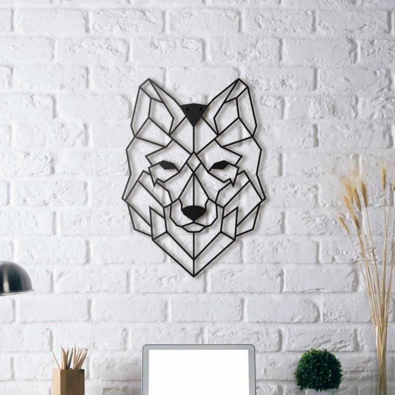 Wolf Metal Wall Art