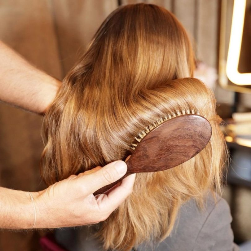 Detangling Boar Bristle Hairbrush