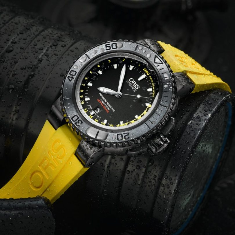 Oris Aquis Depth Gauge Dive Watch