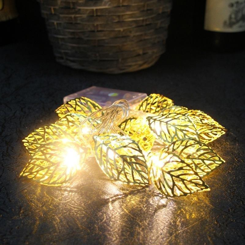 LED Leaf String Lights