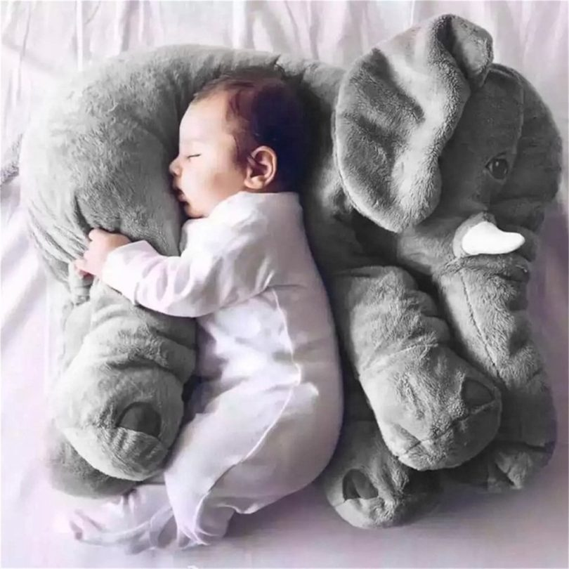 Elephant Baby Pillow