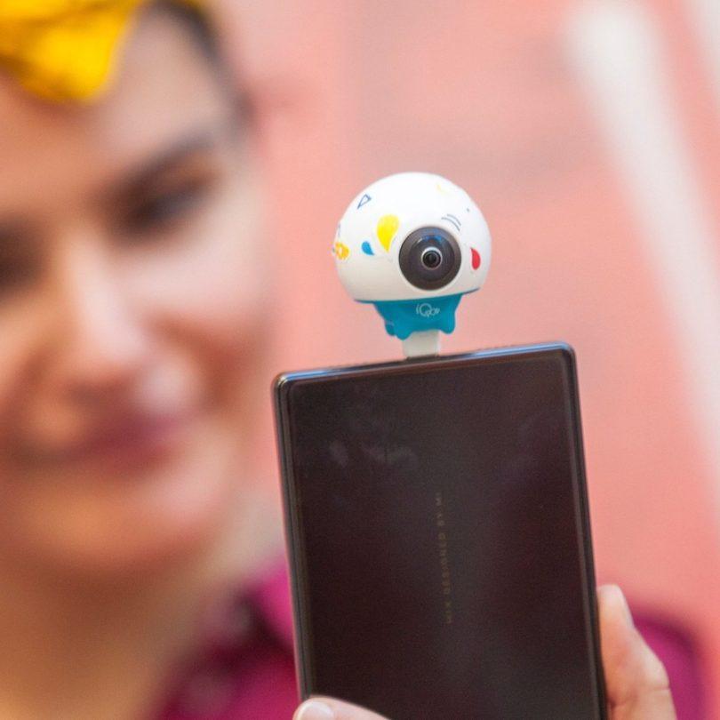 Giroptic iO Pop HD 360 Camera for Android Smartphones