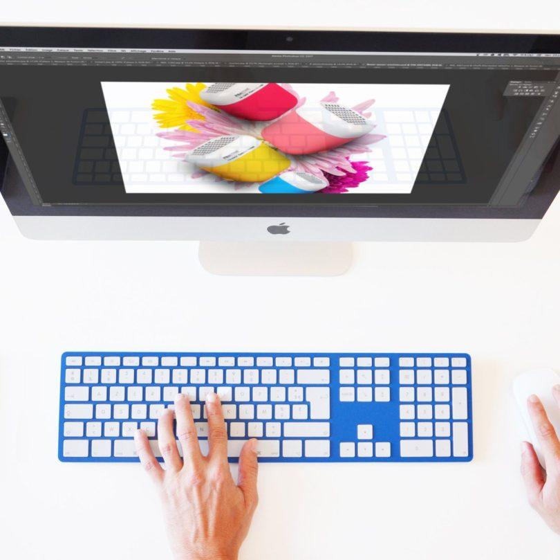 Blue CTRL Keyboard For Mac