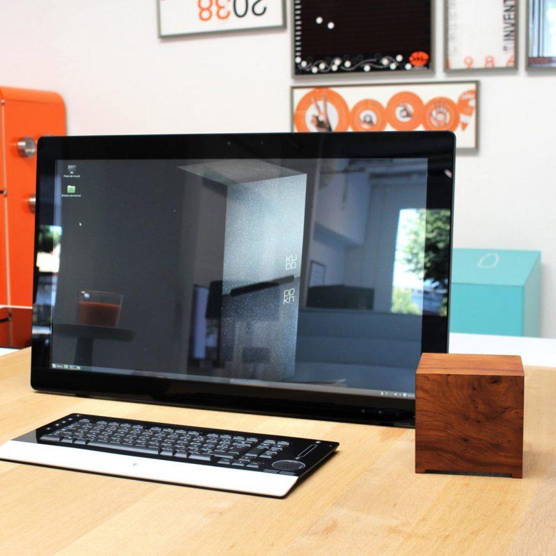 Kubb Walnut Mini-Computer intel Core i3 to i7
