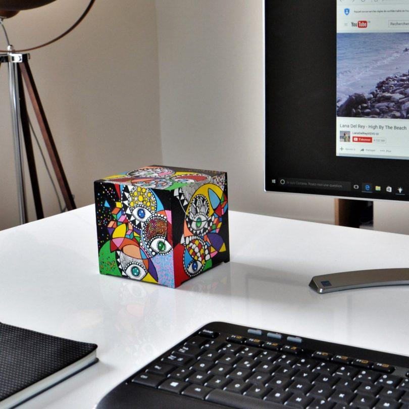 Kubb Street Art Collection Mini-Computer