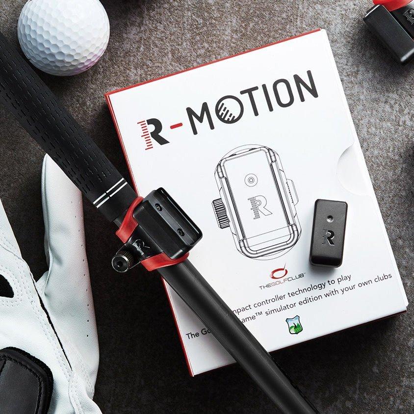 R-Motion Golf Club Simulator and Swing Analyzer