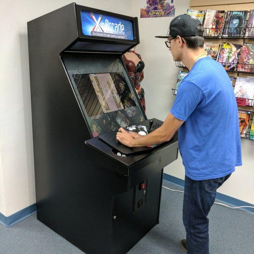 Beautiful X Arcade Machine
